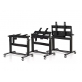 STAND MOBILE - TROLLEY  PARA MONITOR ATE 84""