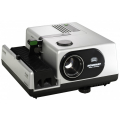 BRAUN SLIDE PROJECTOR E150 WITH 85MM LENS AND IR-REMOTE CONT