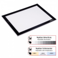 LED LIGHT PAD A4+ SUPER SLIM 21X31CM; COLOR+BRIGHTNESS DIMMA