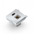 CONNECTOR MODULE FOR FLAT, MINI & NEO RANGE, USB 3.0 + LAN -
