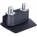 BASE MESA P/ 2 SUPORTES GAS LIFT SINGLE PRETO